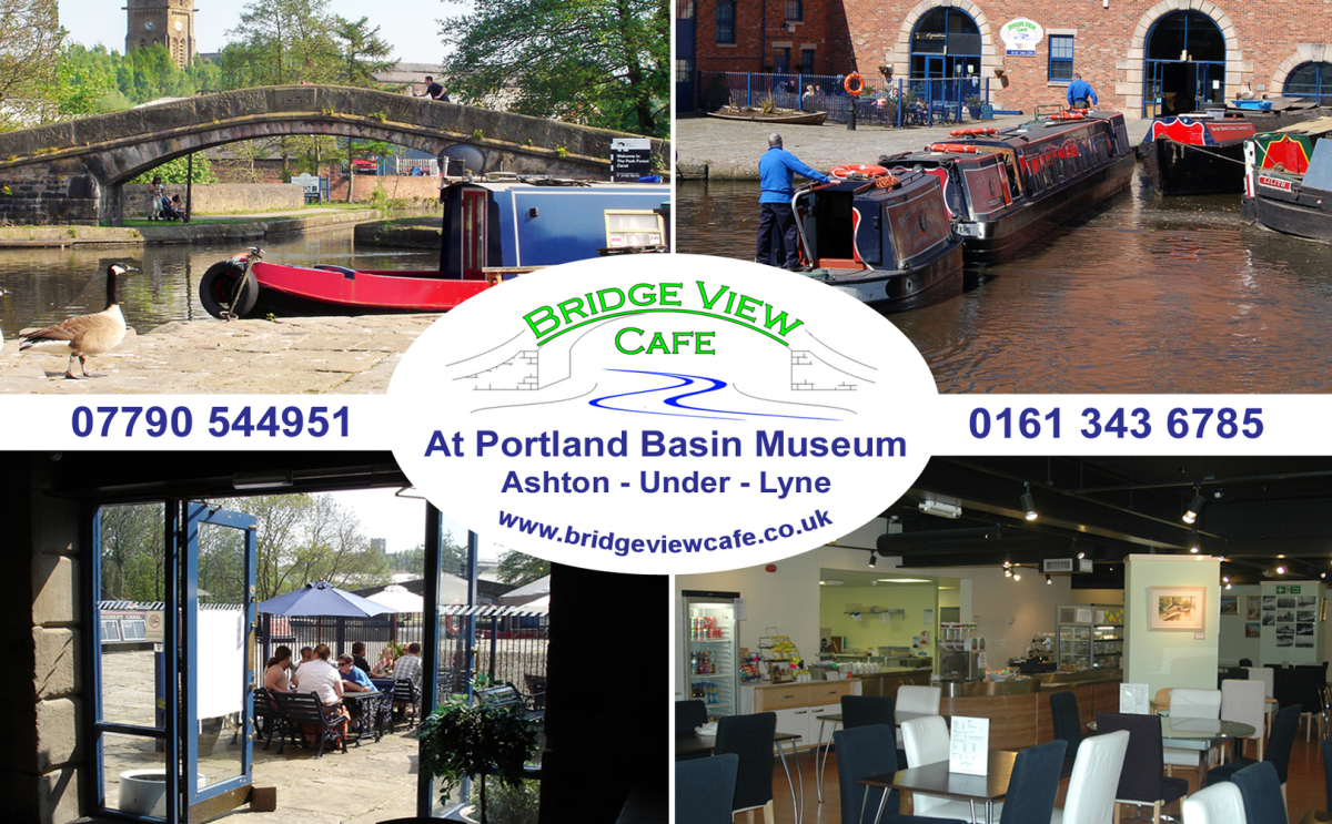 Bridge View Cafe postcard